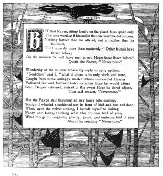 The Raven by Quarles.