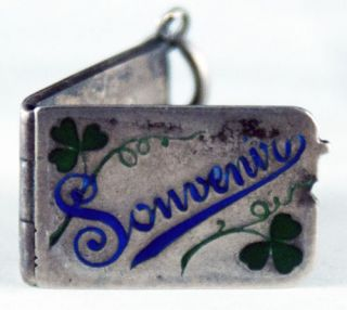 Silver Souvenir Locket