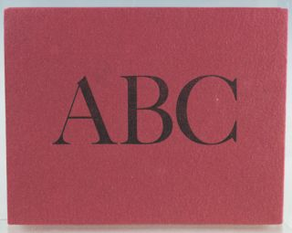 William Caslon's Typographic ABC.