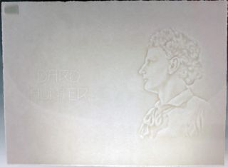 Watermark portrait of Dard Hunter