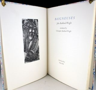 Baigneuses. Introduced by Christopher Buckland Wright. Christopher Buckland Wright