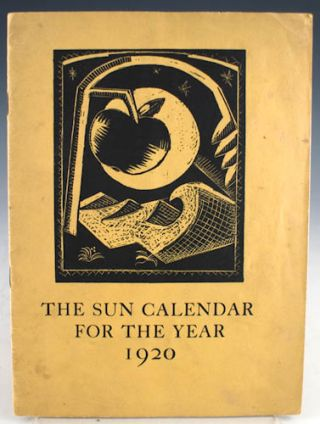 The Sun Calendar 1920. Paul Nash
