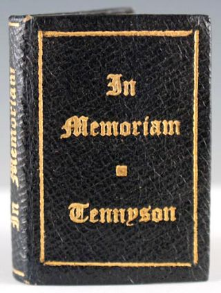 In Memoriam. Alfred Lord Tennyson.