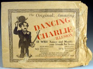 The Original, Amazing Dancing Charlie Illusion.