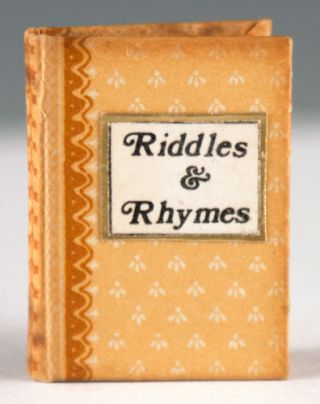 Riddles and Rhymes. Barbara J. Raheb, compiler