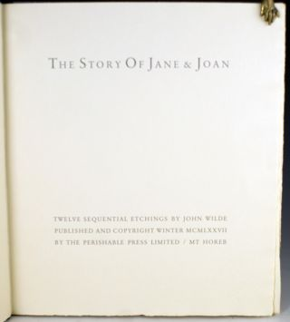The Story of Jane and Joan.