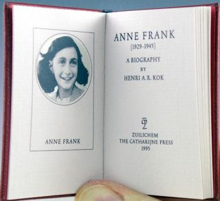 Anne Frank (1929-1945), A Biography.