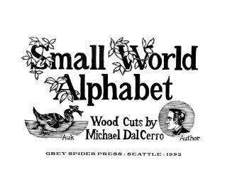 Small World Alphabet.