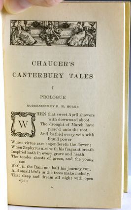 Chaucer's Canterbury Tales.
