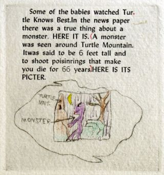 The Monster in the Turtle's Den.