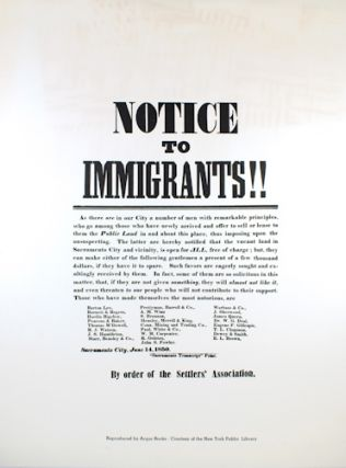 """Notice to Immigrants!!"""
