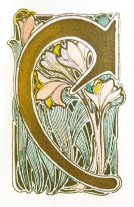 Florilegium: A Collection of Flower Initials Designed by Maurice Dufrène. Maurice Dufrène