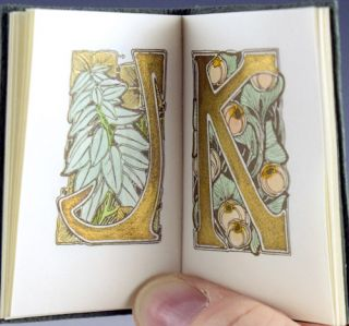 Florilegium: A Collection of Flower Initials Designed by Maurice Dufrène.