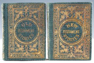 Old Testament Stories, together with New Testament Stories. Aunt Laura, Frances Elizabeth Barrow.