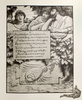 Rubáiyát of Omar Khayyám, the Astronomer-Poet of Persia. Rendered in English Verse by Edward Fitzgerald with an Accompaniment of Drawings by Elihu Vedder.