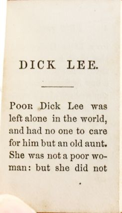 Dick Lee: A Fairy Story, in Short, Easy Words.