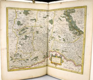 A Leaf From the Mercator-Hondius World Atlas, Edition of 1619 with an Essay by Norman J.W. Thrower. Norman J. W. Thrower.