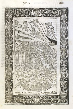 The Brescia Dante: With a Leaf from the Illustrated Edition of 1487 Printed by Boninus de Boninis. Dante Alighieri.