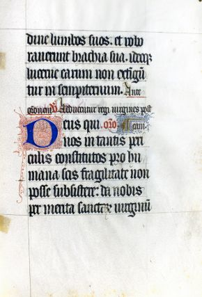The Gothic Script of the Middle Ages: Together with an Original Leaf from a Gothic Manuscript Collectar. H. C. Schulz.
