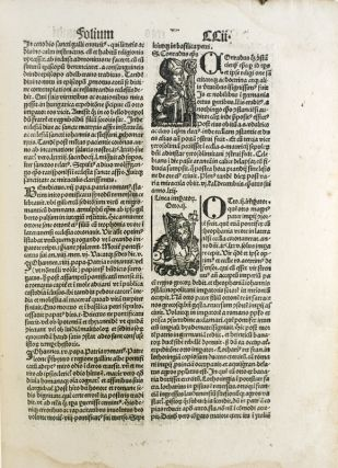 The Nuremberg Chronicle: A Pictorial World History from the Creation to 1493. A Monograph by Ellen Shaffer with a Leaf from the Pirated Augsburg Latin Edition of 1497.