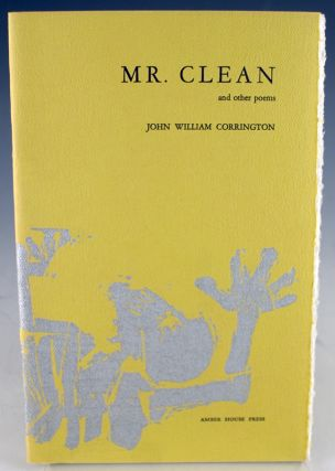 Mr. Clean and Other Poems. John William Corrington