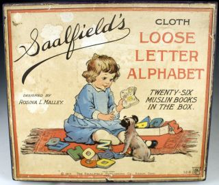 Cloth Loose Letter Alphabet. Rosina L. Malley.