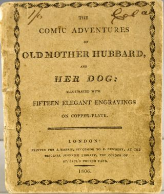The Comic Adventures of Old Mother Hubbard, and Her Dog. Sarah Catherine Martin