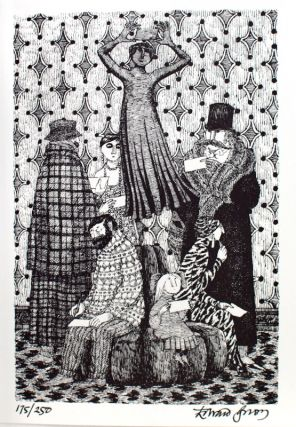 The Betrayed Confidence. Seven Series of Dogear Wryde Postcards. Edward Gorey.