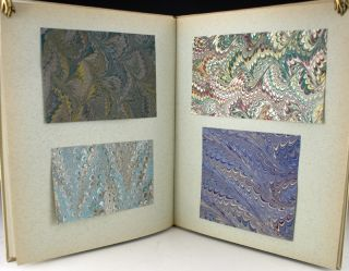 Sample Book of Marbled Papers. Pamela S. Smith.