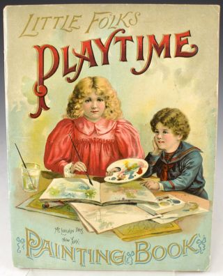 Little Folks Playtime Painting Book