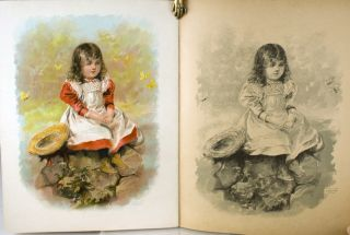 Little Folks Playtime Painting Book.