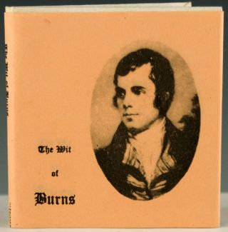 The Wit of Burns. Robert Burns.