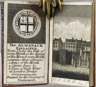 London Almanack for the Year of Christ 1820.