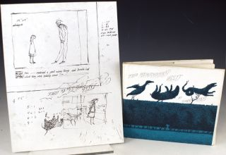 Preliminary sketches and text for The Remembered Visit. Together with a copy of the published book. Edward Gorey.
