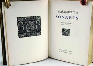 Shakespeare's Sonnets. William Shakespeare.
