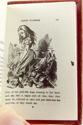 Alice's Adventures in Wonderland, by Lewis Carroll. With Forty-Two Illustrations by John Tenniel.