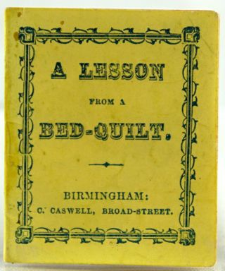 A Lesson from a Bed-Quilt.
