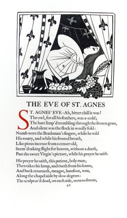 Lamia, Isabella, The Eve of Saint Agnes & Other Poems.