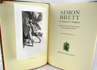 Simon Brett: An Engraver's Progress. A Selection of Engravings with an Introduction by the Artist. Endgrain Editions Four.