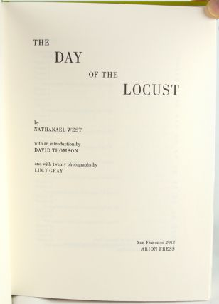 The Day of the Locust.