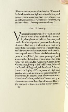 The Essays of Francis Bacon.