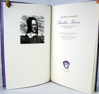 Sundrie Pieces: A New Selection of George Herbert's Poetry, with Samples of his Prose.