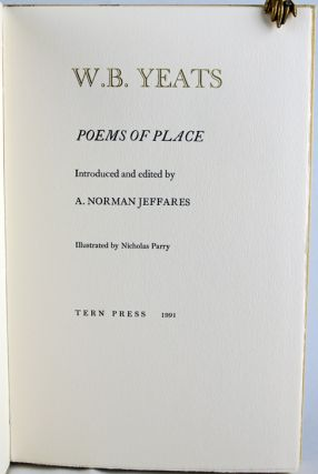 Poems of Place.