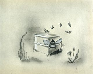 Original drawings for Over the Meadow.