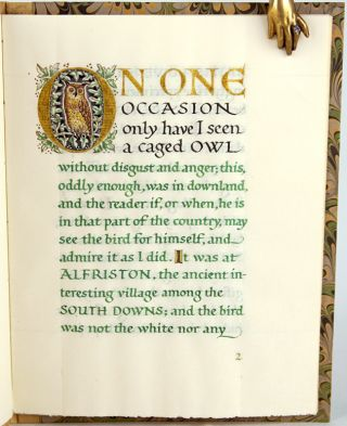 The Owl at Alfriston. W. H. Hudson