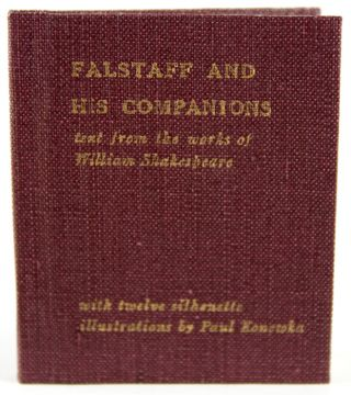 Falstaff and His Companions. William Shakespeare