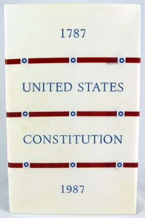 Constitution of the United States. Published for the Bicentennial of its Adoption in 1787