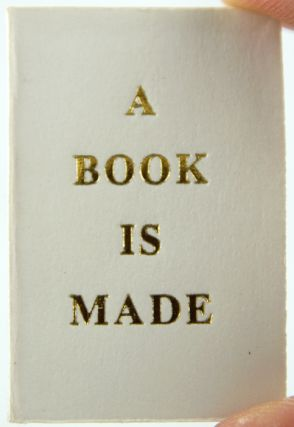 A Book is Made