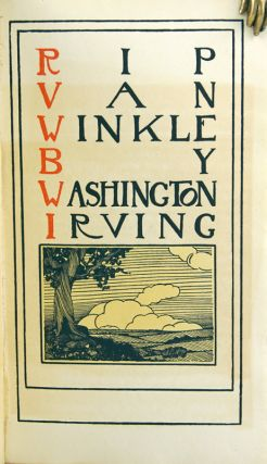 Rip Van Winkle. Washington Irving