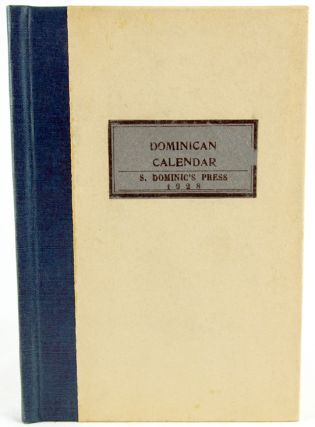 Diary with Dominican Calendar and XII Wood-engravings.